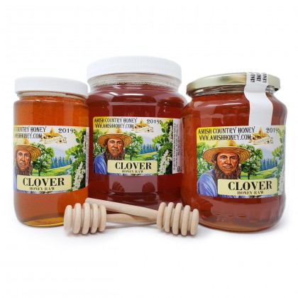 Clover Honey Raw