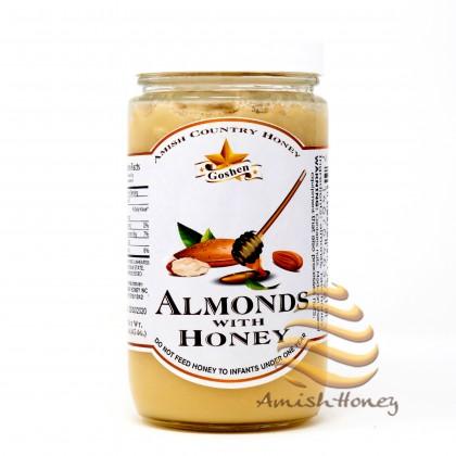 Almonds with Honey 1 LB