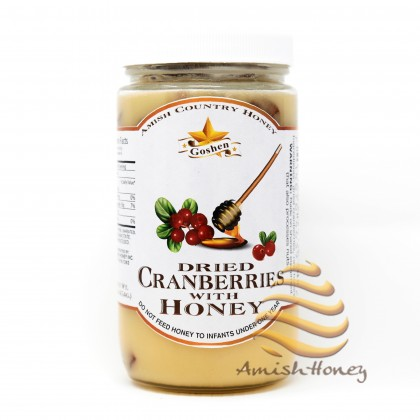 Dried Cranberries With Honey 1LB