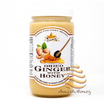 Dried Ginger with Honey 1LB