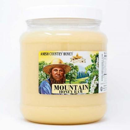 Mountain Raw Honey 5 lb FD