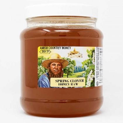 Spring Clover Raw Honey 5 lb FD