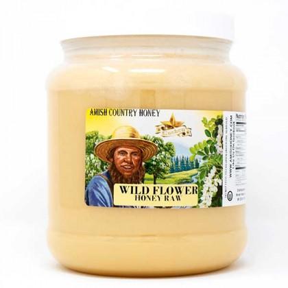 Wild Flower Raw Honey 5 lb FD