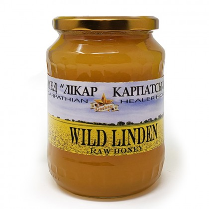 Carpathian Wild Linden Honey 2lb