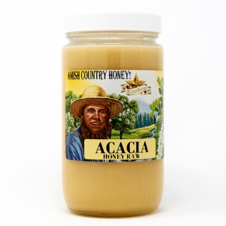 Acacia Honey Raw 1lb