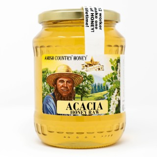Acacia Honey Raw 2lb