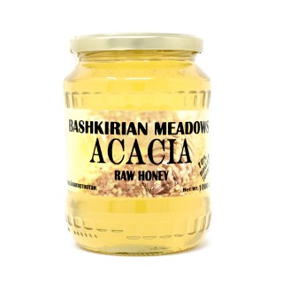 Bashkirian Meadows Acacia Raw Honey 2lb