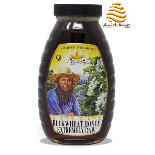 Raw Buckwheat Honey 1 Lb