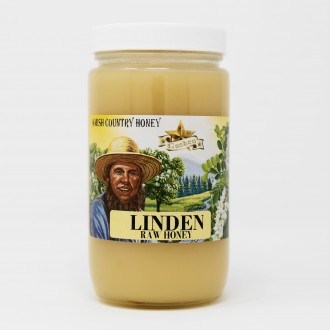 Linden Honey Raw 1lb