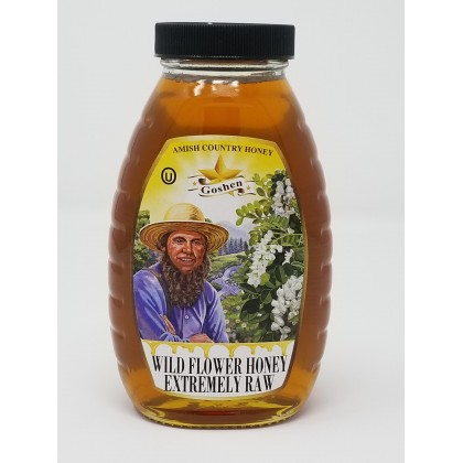 Wild Flower Honey - Extremely Raw