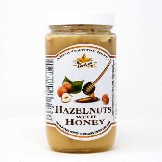 Hazelnuts with Honey 1 LB