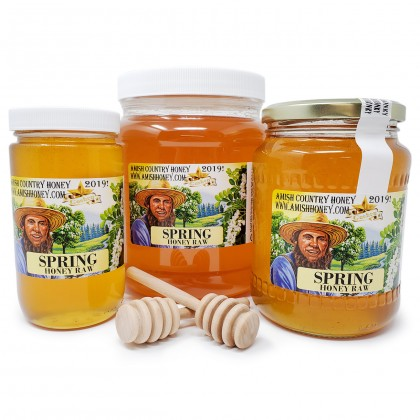 Spring Raw Honey