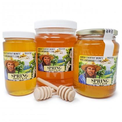Spring Raw Honey