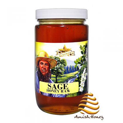 Sage Raw Honey