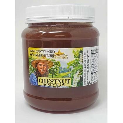 Chestnut Raw Honey 5lb FD