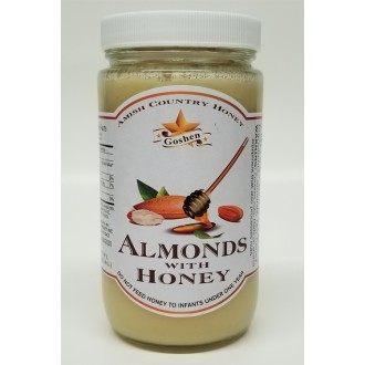 Almonds with Honey 1 LB