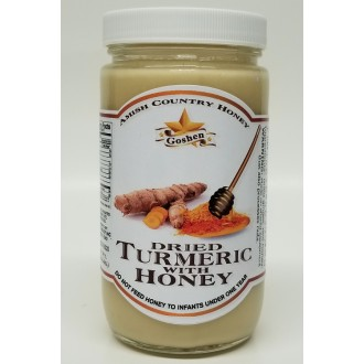 Dried Turmeric with Honey 1 LB