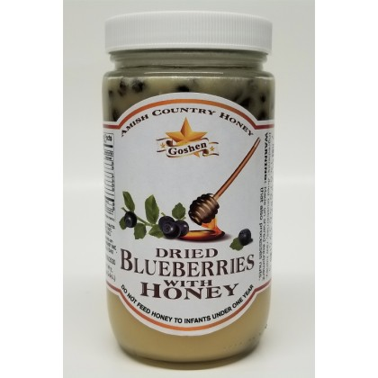Dried Blueberries with Honey 1LB