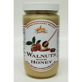 Walnuts with Honey 1 LB