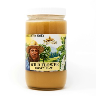 Wild Flower Raw Honey 1lb