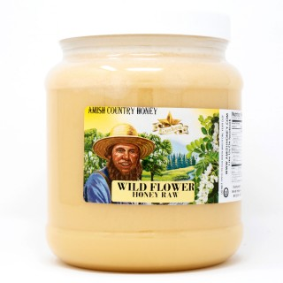 Wild Flower Raw Honey 5lb