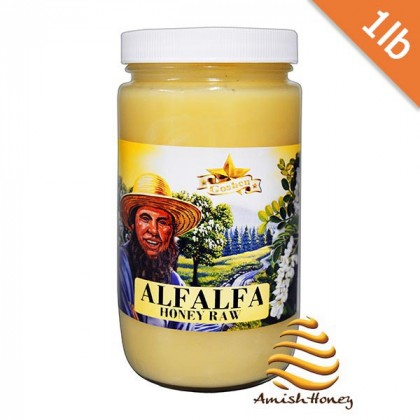 Alfalfa Honey Raw 1 lb