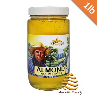 Almond Blossom Honey 1lb