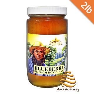 Blueberry Honey Raw 2lb