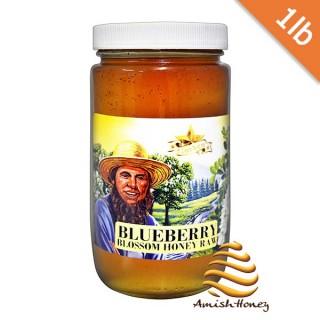Blueberry Honey Raw 1lb