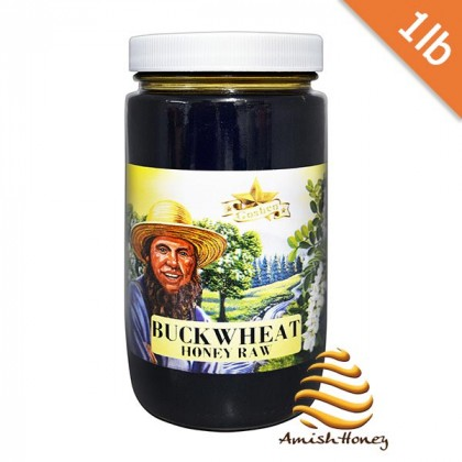 Buckwheat Honey Raw 1lb