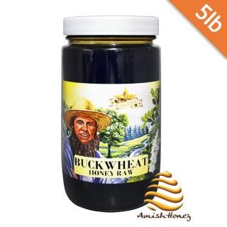 Buckwheat Honey Raw 5lb