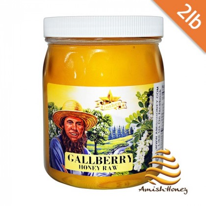 Gallberry Honey Raw 2lb