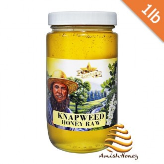 Knapweed Honey Raw 1lb