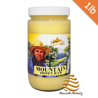 Mountain Honey Raw 1lb
