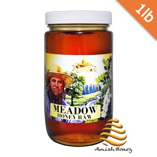 Meadow Honey Raw 1lb