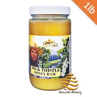 Milk Thistle Honey Raw 1lb