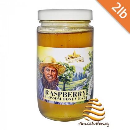 Raspberry Blossom Honey Raw 2lb