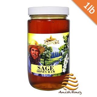 Sage raw Honey 1lb
