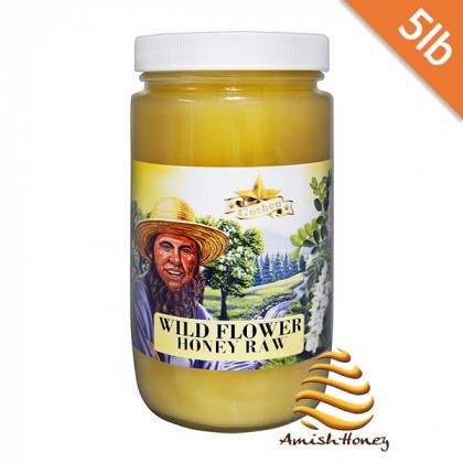 Wild Flower Raw Honey 5lb