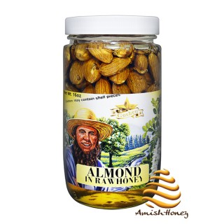 Almond In Raw Honey 1lb