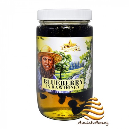 Blueberry In Raw Honey 1lb