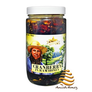 Cranberry in Raw Honey 1lb