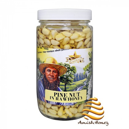 Pine Nuts in Raw Honey 1lb