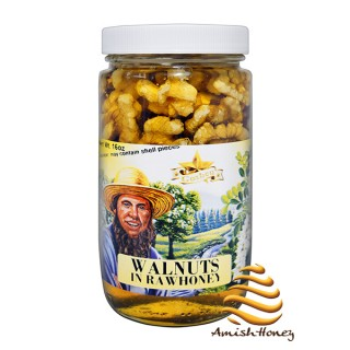 Walnuts in Raw Honey 1lb
